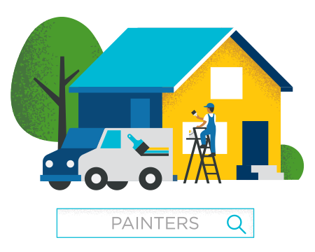 Find contractors, plumbers, painters, electricians, and more.
